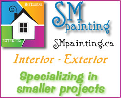 SM Painting - Specializing in smaller projects  -Interior, Exterior